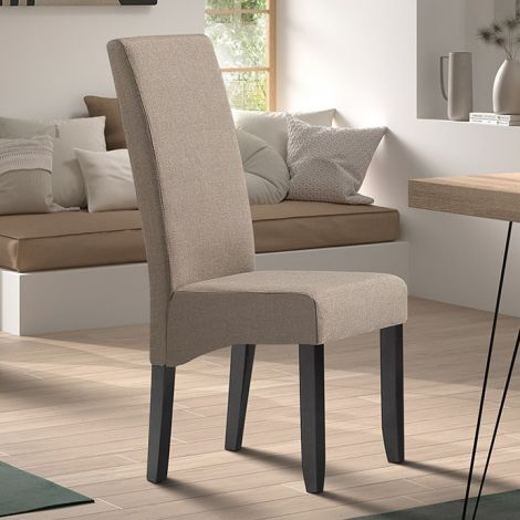 2er-Set Stühle Joan polyester - taupe