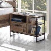 Nachttisch Kemar mit 1 Schublade - alter Stil