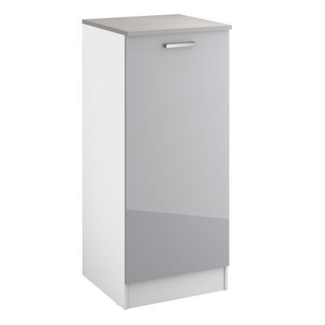Küchenschrank Eli 60x141 mit Tür - grau