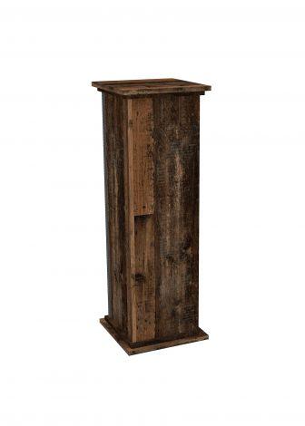 Sockel Essex klein - verwittertes Holz