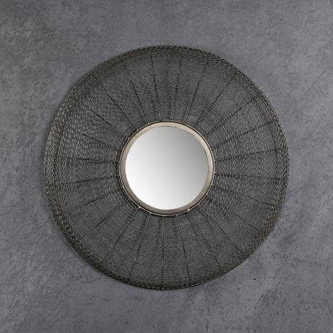 Spiegel Ø65 web - Schwarz Nickel