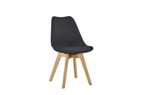 Satz von 4 Stühlen Malmo - schwarz