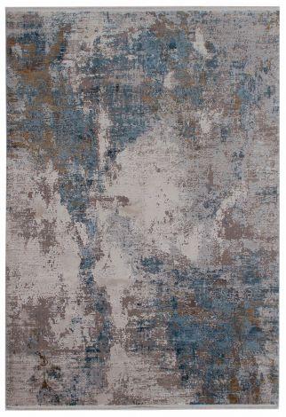 Teppich Kennedy D 300x200 Dunkelgrau/Beige