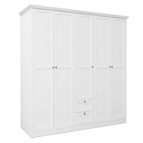 Kleiderschrank Landwood 5 Türen