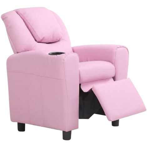 Relaxstuhl für Kinder Rex - rosa