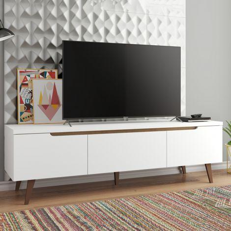 TV-Schrank Infas 180cm mit 2 Türen und 1 Schublade - weiß