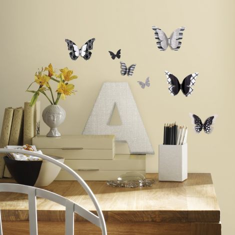 Wandsticker RoomMates - 3D Schmetterling